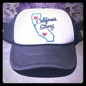 California Strong Truckers hat